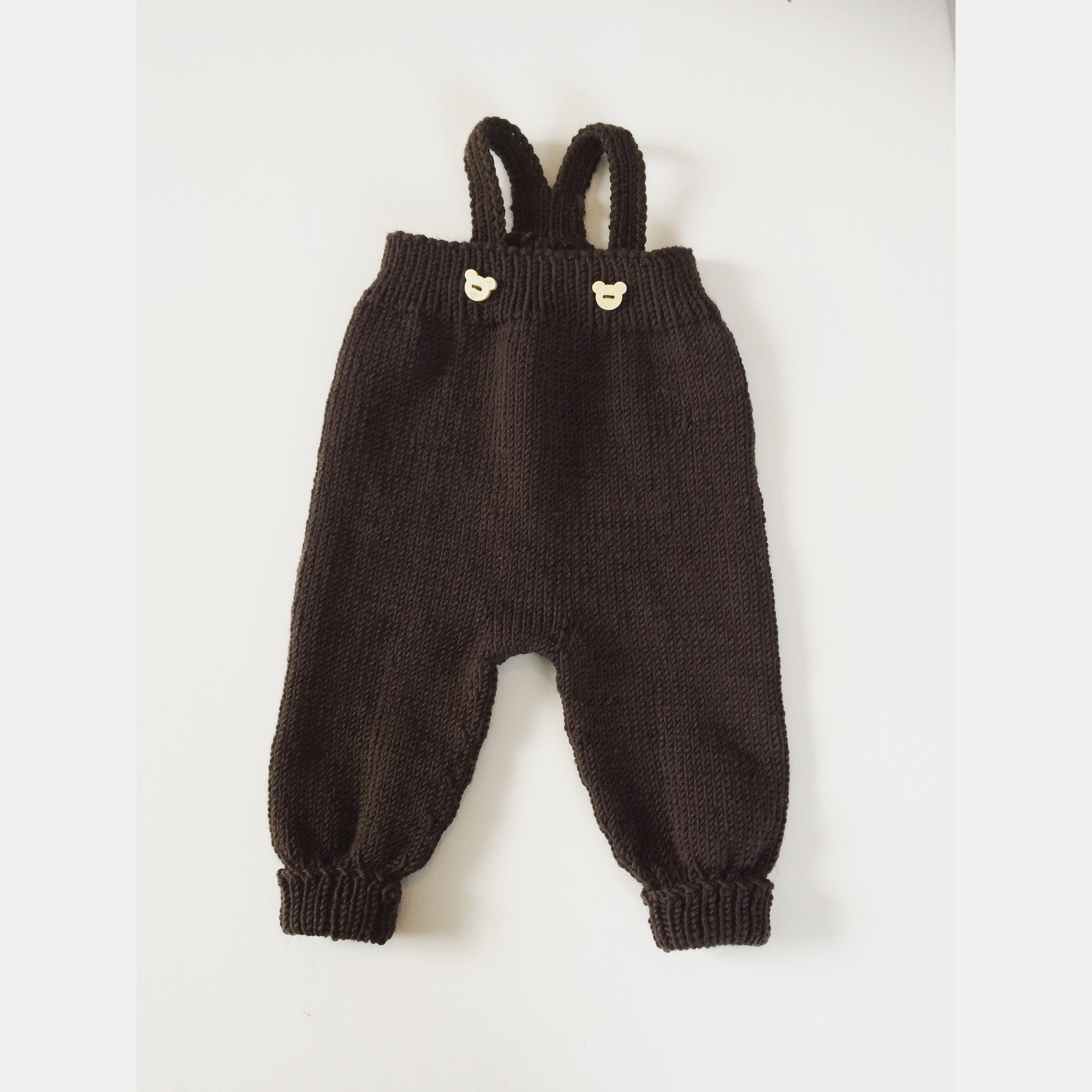 Brun Gromgutt-bukse