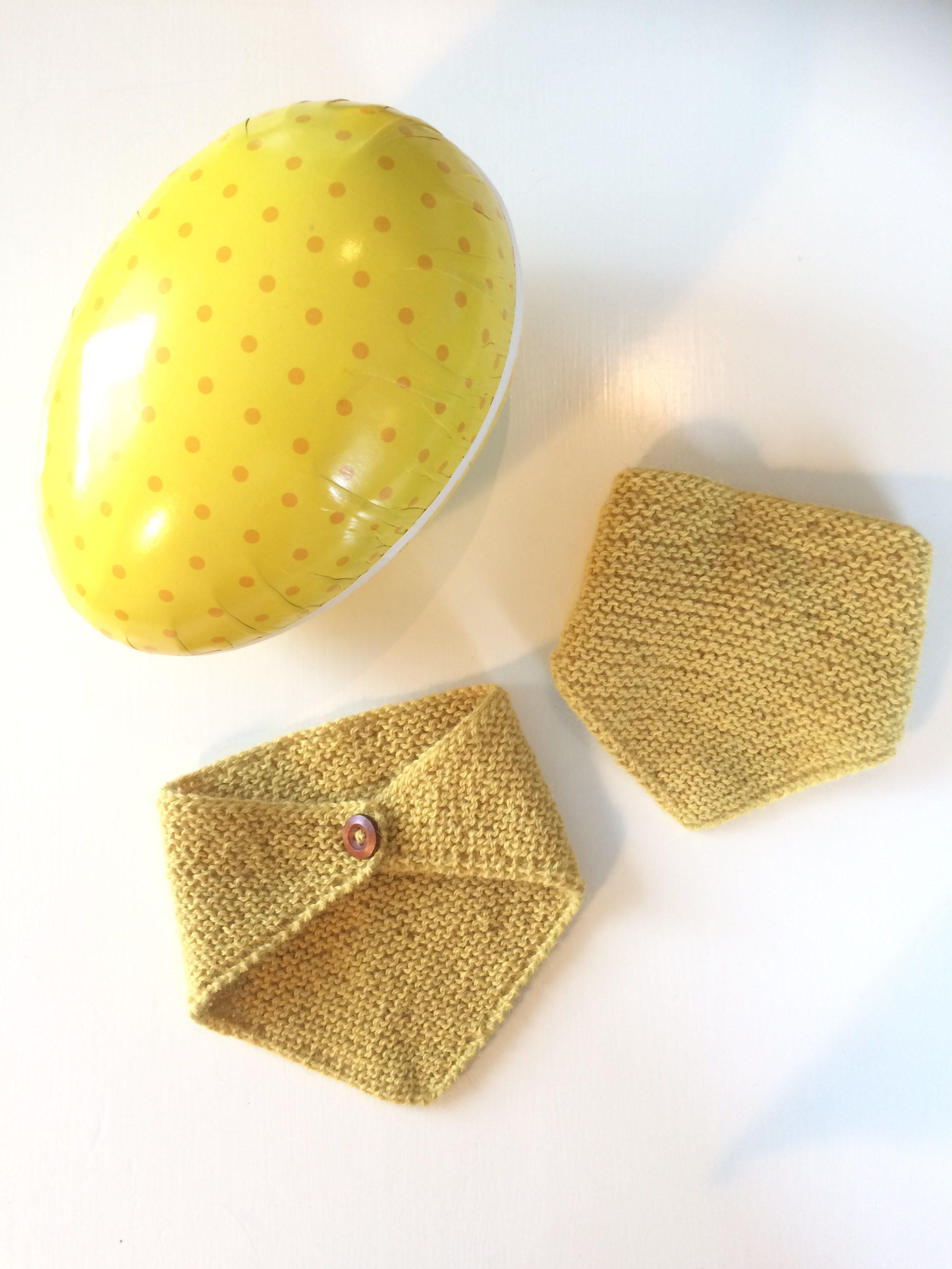 Baby strikkehals