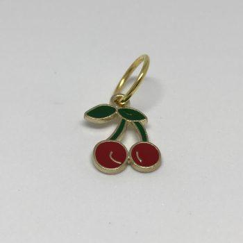 maskemarkør formet som kirsebær
